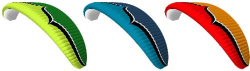 Ozone Triox Glider color Schemes